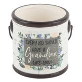 Blossom Bucket, Every Kid Should Have A Grandma Like You Mini Crock, Ceramic, 3 1/4 x 3 inches