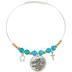 Wildflower Road, Psalm 139:14 Fearfully & Wonderfully Made Wire Wrap Charm Bracelet