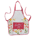 Christian Art Gifts, Scatter Joy Apron, Cotton, Coral, Adult Size