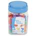 Edx Education, Farm Animal Counters Mini Jar Set 36 Pieces, Multi-Colored, Grades PreK-1