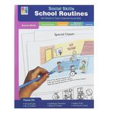 Carson-Dellosa, Social Skills School Routines, Special Needs, Reproducible, 64 Pages, Grades PreK-2