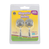 Teacher Created Resources, Magnetic Swivel Hooks, 1 x 2.50 Inches, 2 Pieces