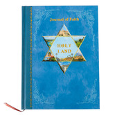 Holy Land Gifts, Holy Land Tour Journal, Blue, 8 1/2 x 6 Inches