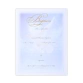 Warner Press, Dove Design Baptism Certificates and Envelopes, 8 1/2 x 11 inches, Set of 6