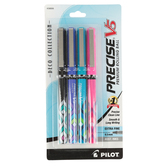 Pilot, Precise Rollerball, Extra Fine Point, Assorted Colors, Pack of 4