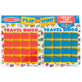 Melissa & Doug, Flip to Win Travel Bingo Game, Ages 4 and Older, 2 Players