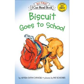 Biscuit Goes to School, My First I Can Read Book, by Alyssa Satin Capucilli, Paperback