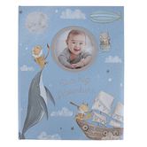 C.R. Gibson, Our Big Adventure Baby Memory Book, 48 Pages, 8 3/4 x 11 1/4 inches