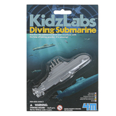 Toysmith, 4M KidzLabs Diving Submarine, 1 Piece, Ages 5 Years and Older