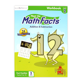 Preschool Prep Company, Meet the Math Facts Workbook, Level 2, 100 Pages, Grades PreK-1