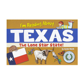 Gallopade, I'm Reading About Texas The Lone Star State, Paperback, 48 Pages, Grades 2-7