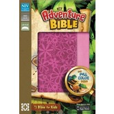 NIV Adventure Bible, Duo-Tone, Raspberry and Pink