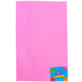Silly Winks, Glitter Foam Sheet, Pink, 12 x 18 Inches, 1 Each