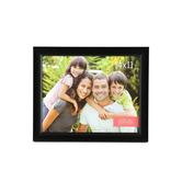 Scoop Plastic Photo Frame, 14 x 11 inches, Black