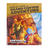 Master Books, Charlie and Trike in the Grand Canyon Adventure, Hardcover, Grades K-3