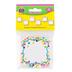 Teacher Created Resources, Confetti Quatrefoil Shape Mini Accents Cutouts, 2.62 Inches, 36 Pieces