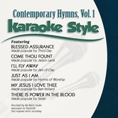 Contemporary Hymns Volume 1, Karaoke Style, As Made Popular by Various Artists, CD+G