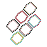Isabella Collection, Jumbo Cutouts, 10-Inch Squares, 6 Assorted Designs, 12 Pieces