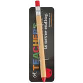 Dicksons, Always Be Joyful Teacher Pen, Pencil Design, Red Ink