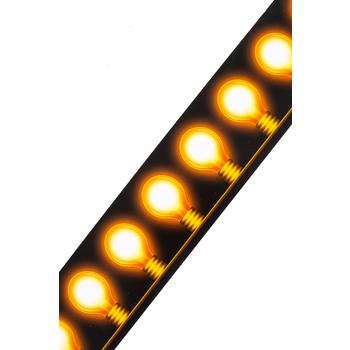 Renewing Minds, Wide Border Trim, 38 Feet, Light Bulbs