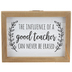 Good Teacher Wood Wall Sign, MDF, 6 x 8 x 1 1/4 inches
