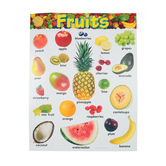 TREND, Fruits Chart, 17 x 22 Inches, Multi-Colored, 1 Piece