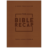 The Bible Recap, by Tara-Leigh Cobble, Imitation Leather, Brown