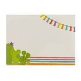 Renewing Minds, Self-Adhesive Labels, Colorful Cactus and Tassels, 3.5 x 2.5 Inches, Pack of   36