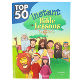 RoseKidz, Top 50 Instant Bible Lessons for Preschool, Paperback, 256 pgs, Ages 2-5