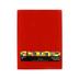Tree House Studio, Peel & Stick Red Craft Felt, 9 x 12 Inches, 1 Piece