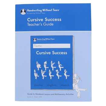 Handwriting Without Tears, Cursive Success Teacher's Guide, Paperback, Grade 4