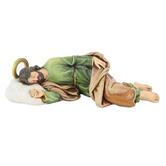 Roman, Inc, Sleeping Saint Joseph Figurine, Resin, 8 1/2 inches