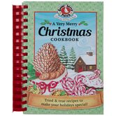 A Very Merry Christmas Cookbook, by Gooseberry Patch, Spiral Bound