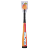 Toysmith, Get Outside Go Play, Jumbo Bat & Ball Set, 2 Pieces, Ages 3 & Older