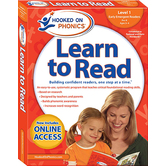 Hooked on Phonics, Learn to Read Level 1: Early Emergent Readers, Pre-K, Box Set, Ages 3-4