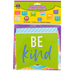 Teacher Created Resources, Colorful Vibes Positive Sayings Large Accents Cutouts, 6 Inches, 30 Pieces