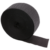DenneCrepe, Solid Crepe Streamer Value Roll, Multiple Colors Available, 175 Feet