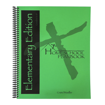 State Histories, Elementary Homeschool Planbook, Spiral, 80 Pages, Grades K-8
