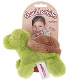 Aurora, Shoulderkins, Tal the Turtle Stuffed Animal, Green & Brown, 6 inches