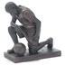 Dicksons, Philipppians 4:13 Praying Basketball Player Figurine, Resin, Bronze, 6 x 5 inches