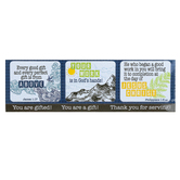 CTA, Inc., Celebrating Your Faith and Service 4-in-1 Magnet Set, 2.50 x 8 Inches
