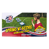 Toysmith, Spring N Score Bounce Ball Game, 8 Pieces, Ages 6 and Older