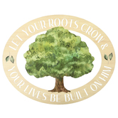 P. Graham Dunn, Let Your Roots Grow Wall Decor, MDF, Beige and Green, 20 x 16 x 1/2 inches