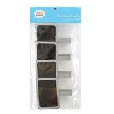 Bright Ideas, Mini Chalkboard Clips, MDF, Multiple Colors Available, 3 x 2 3/4 inches, 4 count
