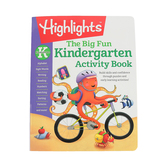 Highlights, The Big Fun Kindergarten Activity Book, Paperback, 256 Pages, Grade K