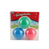 Toysmith, Mini Dodge Ball Set, Ages 3 to 12 Years Old, 3 Balls