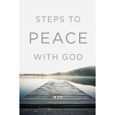 Good News Tracts, Steps to Peace with God KJV, Set of 25 Tracts