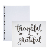 Brother Sister Design Studio, Thankful & Grateful Note Cards, 15 Cards with Envelopes
