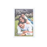 Magnetic Photo Pocket, 4 x 6 inches, 2 Count