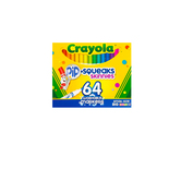 Crayola, Pip Squeak Skinny Washable Markers, Assorted Colors, 64 Count